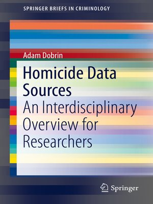 cover image of Homicide Data Sources