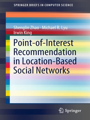 cover image of Point-of-Interest Recommendation in Location-Based Social Networks