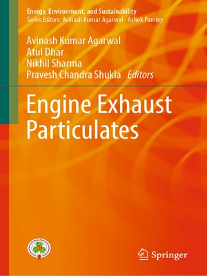 cover image of Engine Exhaust Particulates