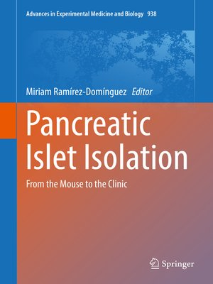 cover image of Pancreatic Islet Isolation