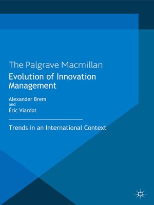 cover image of Evolution of Innovation Management