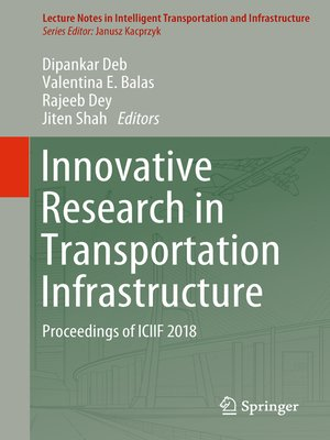 cover image of Innovative Research in Transportation Infrastructure