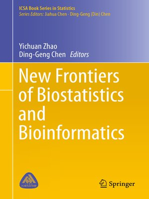 cover image of New Frontiers of Biostatistics and Bioinformatics