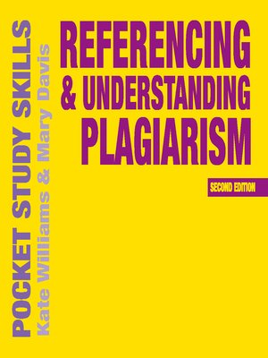 cover image of Referencing and Understanding Plagiarism