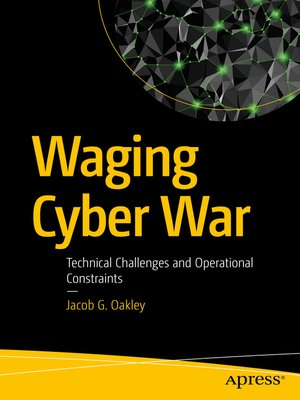 cover image of Waging Cyber War