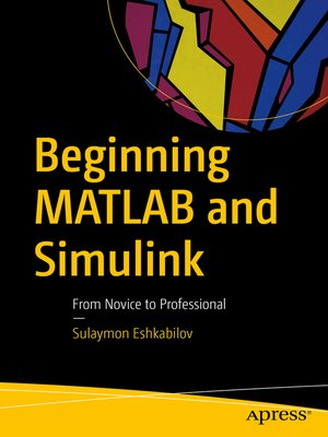 cover image of Beginning MATLAB and Simulink