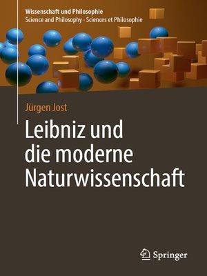 cover image of Leibniz und die moderne Naturwissenschaft