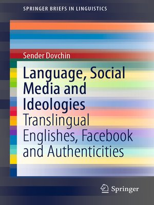 cover image of Language, Social Media and Ideologies