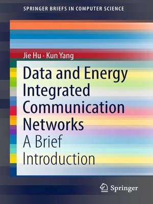 cover image of Data and Energy Integrated Communication Networks