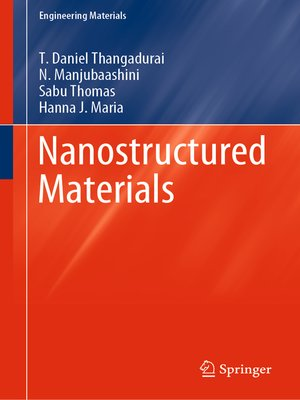 cover image of Nanostructured Materials