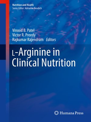cover image of L-Arginine in Clinical Nutrition