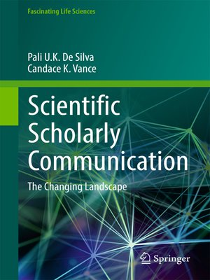 cover image of Scientific Scholarly Communication