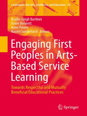 cover image of Engaging First Peoples in Arts-Based Service Learning