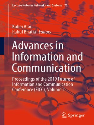 cover image of Advances in Information and Communication