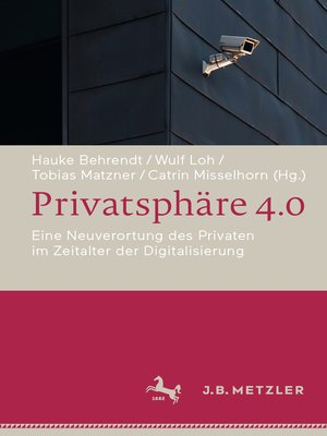 cover image of Privatsphäre 4.0