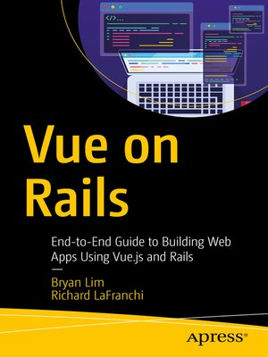 cover image of Vue on Rails