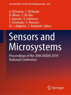 cover image of Sensors and Microsystems