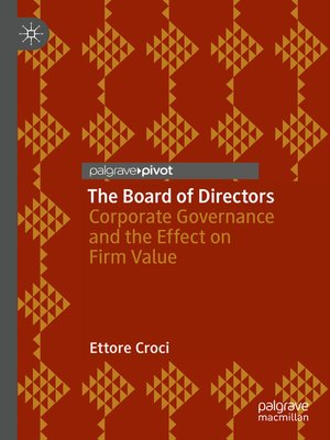 cover image of The Board of Directors