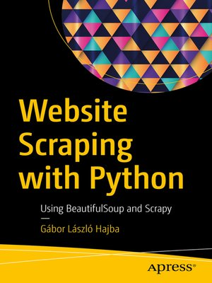 cover image of Website Scraping with Python