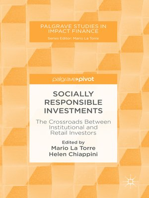 cover image of Socially Responsible Investments