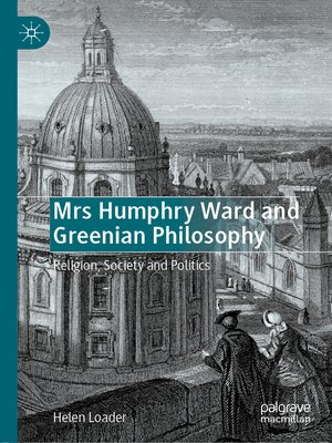 cover image of Mrs Humphry Ward and Greenian Philosophy