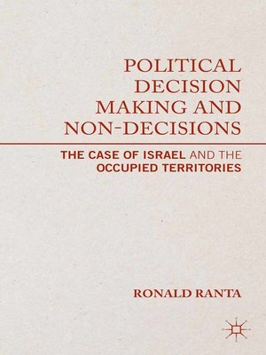 cover image of Political Decision Making and Non-Decisions