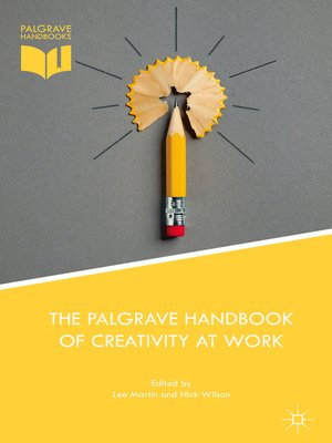 cover image of The Palgrave Handbook of Creativity at Work