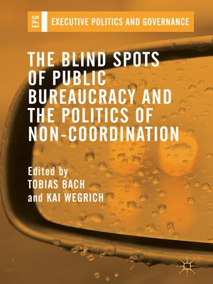 cover image of The Blind Spots of Public Bureaucracy and the Politics of Non‐Coordination