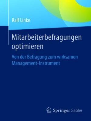 cover image of Mitarbeiterbefragungen optimieren