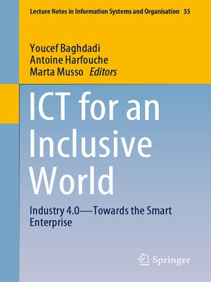 cover image of ICT for an Inclusive World