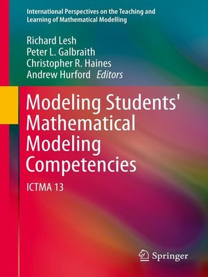 cover image of Modeling Students' Mathematical Modeling Competencies