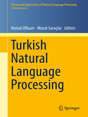 cover image of Turkish Natural Language Processing