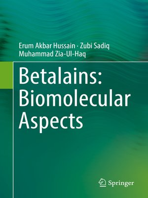 cover image of Betalains