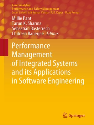 cover image of Performance Management of Integrated Systems and its Applications in Software Engineering