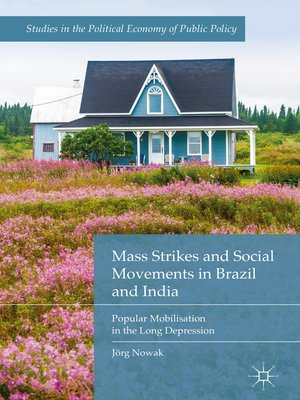 cover image of Mass Strikes and Social Movements in Brazil and India