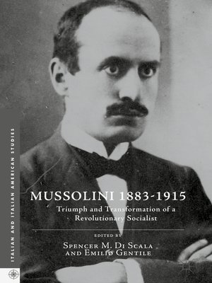 cover image of Mussolini 1883-1915
