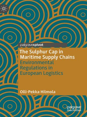 cover image of The Sulphur Cap in Maritime Supply Chains
