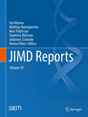cover image of JIMD Reports, Volume 39