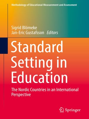 cover image of Standard Setting in Education