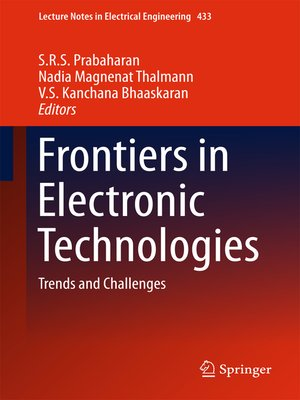 cover image of Frontiers in Electronic Technologies
