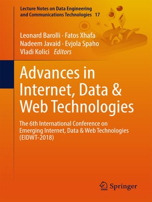 cover image of Advances in Internet, Data & Web Technologies