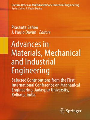 cover image of Advances in Materials, Mechanical and Industrial Engineering