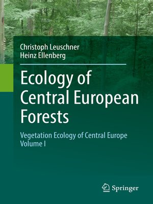 cover image of Ecology of Central European Forests