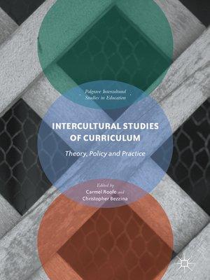 cover image of Intercultural Studies of Curriculum
