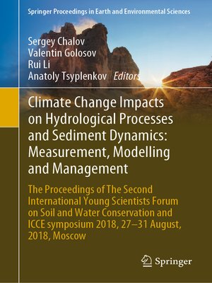 cover image of Climate Change Impacts on Hydrological Processes and Sediment Dynamics