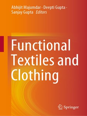 cover image of Functional Textiles and Clothing