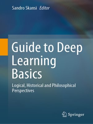 cover image of Guide to Deep Learning Basics