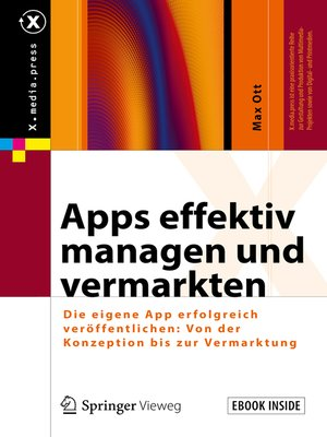 cover image of Apps effektiv managen und vermarkten