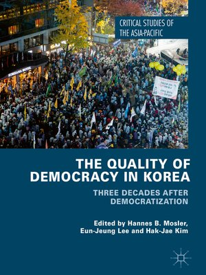 cover image of The Quality of Democracy in Korea