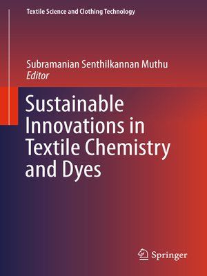 cover image of Sustainable Innovations in Textile Chemistry and Dyes